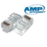 Connector RJ45 CAT5 AMP