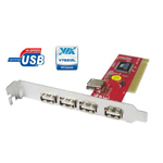 PCI USB Card 5P V1.1/2