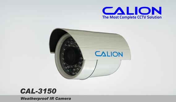 CCTV Calion Cal-3150 Weatherproof IR Camera
