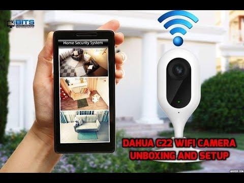 Camera CCTV Wifi Wereless Dahua IPC DH-IPC-C22