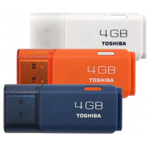 Flash Disk Toshiba 4Gb + 8Gb