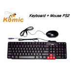 Keyboard Komic PS2 ( Paket )