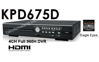 DVR Avtech KPD675D 4 Channel 960H