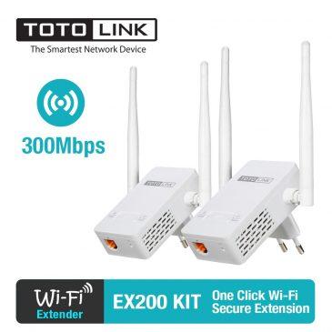 Memperluas Jaringan Wifi Internet dengan Totolink EX200 300Mbps